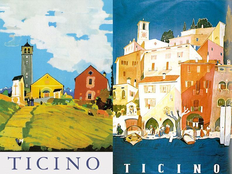 Image 1 - Monte San Salvatore, Ausstellung Historischer Reiseplakate