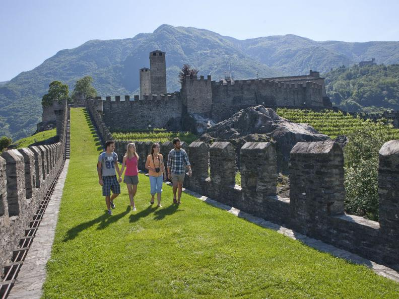 Image 2 - The Castles of Bellinzona