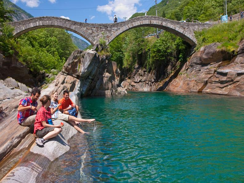 Image 2 - Verzasca Valley - Cool green water