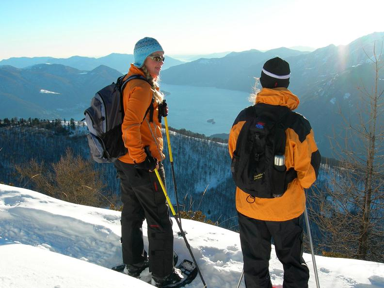 Image 1 - Snowshoe trails in Ticino