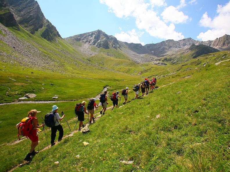 Image 1 - Hiking holidays: Trans Swiss Trail, Gotthard Pass & Strada Alta