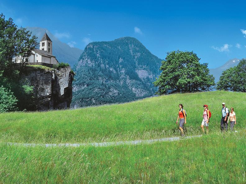 Image 3 - Hiking holidays: Trans Swiss Trail, Gotthard Pass & Strada Alta