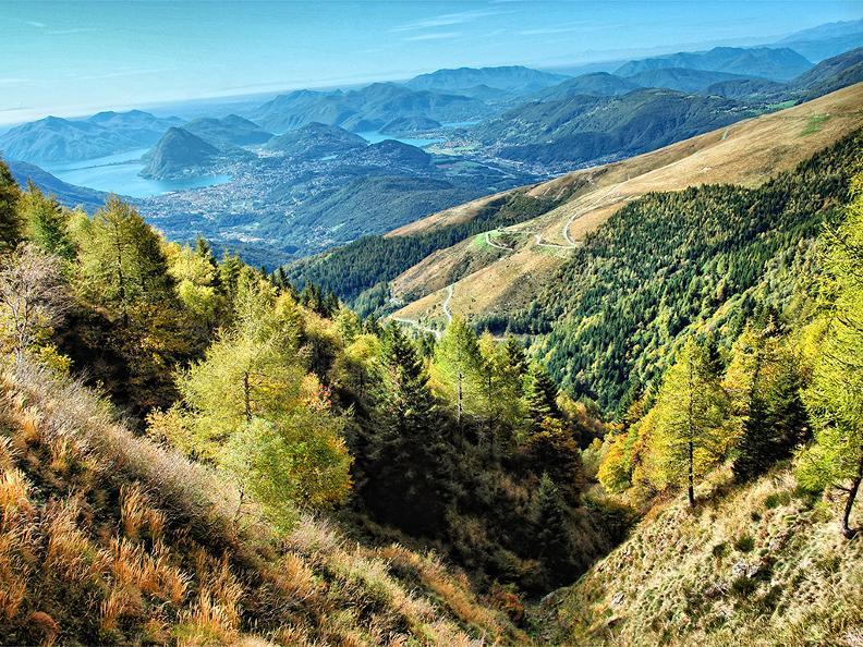 Image 8 - Hiking holidays: Sentiero Lago di Lugano