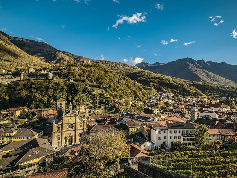 Image 0 - Hiking holidays: Via Gottardo, Bellinzona - Mendrisio