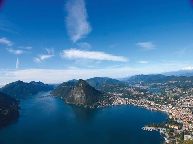 Image 2 - Lugano: the city from the top