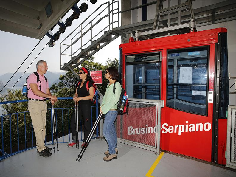 Image 4 - Brusino-Serpiano cable car