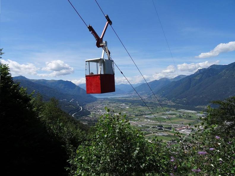 Image 0 - Cable car Camorino-Monti di Croveggia