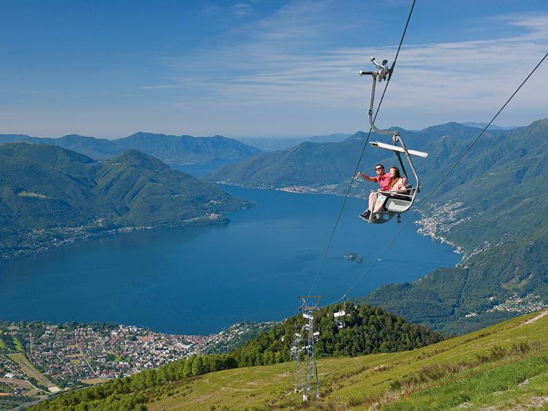 Image 4 - Cable car and chair lift Orselina - Cardada - Cimetta