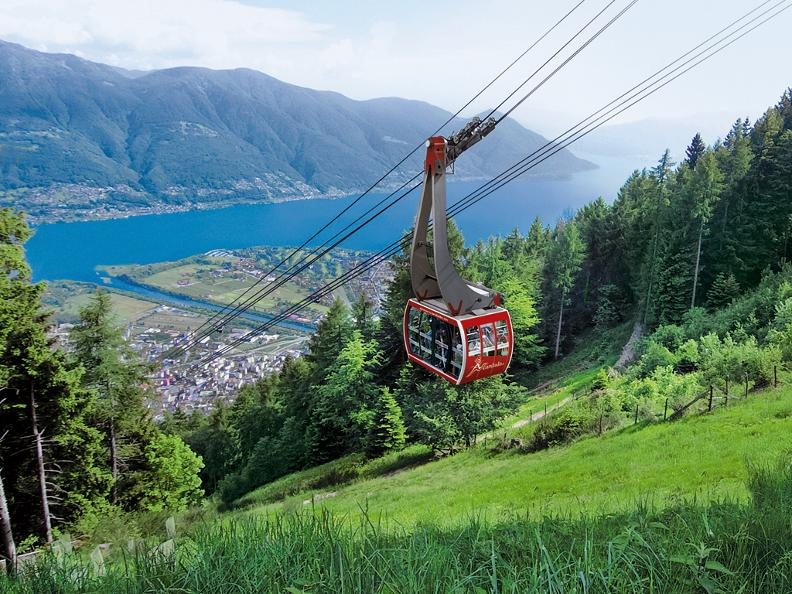 Image 0 - Cable car and chair lift Orselina - Cardada - Cimetta