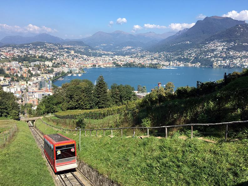 funicular monte san salvatore. Black Bedroom Furniture Sets. Home Design Ideas