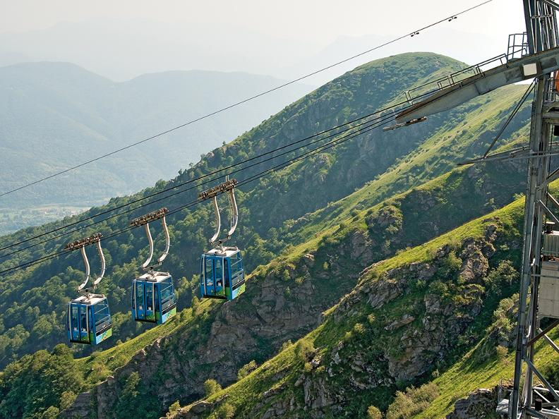 Image 2 - Monte Lema cable car