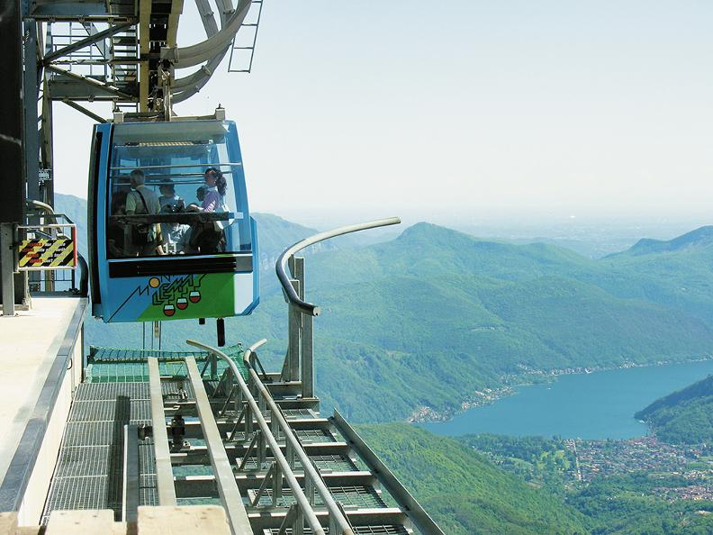 Image 4 - Monte Lema cable car