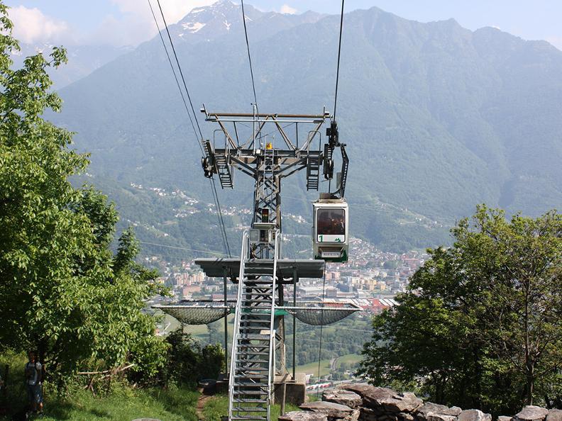 Image 2 - Cablecar Monte Carasso-Mornera