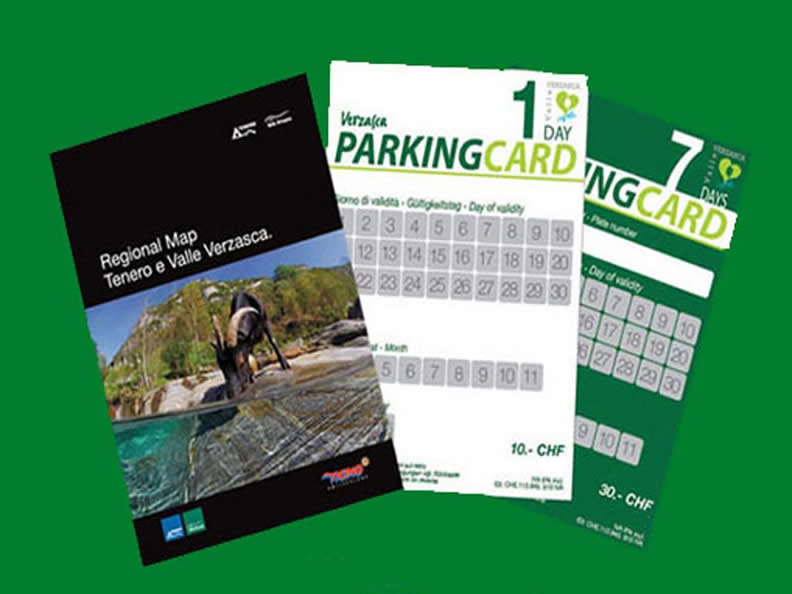 Image 1 - Verzasca Parking Card