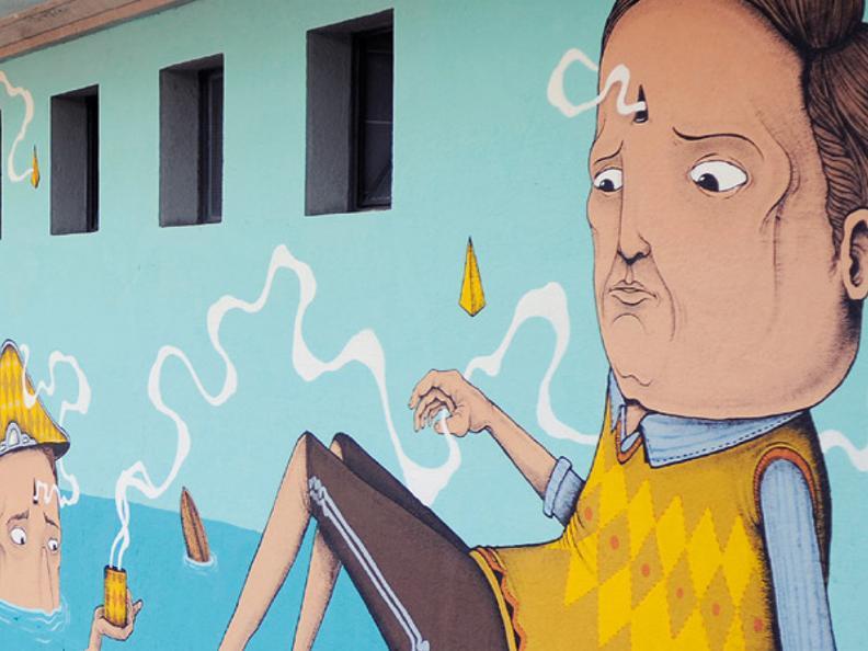 Image 1 - Visite guidée street art et apéritif
