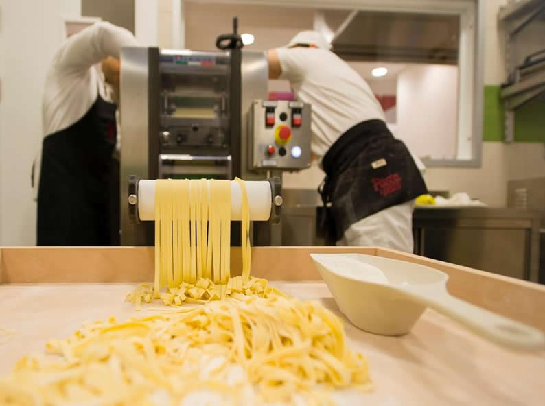 Image 2 - Making Fresh Pasta!