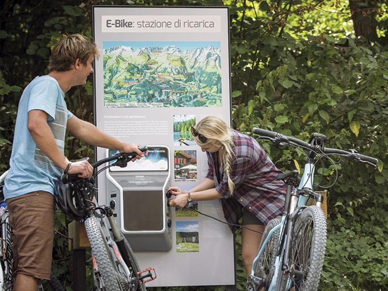 Image 2 - E-bike charging point Bed&Bike Tremola San Gottardo