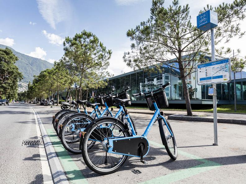 Image 1 - Bike Sharing Locarno VELOSPOT