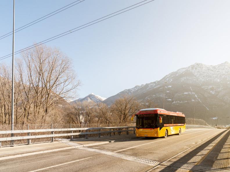 Image 5 - Unterwegs mit dem Postauto