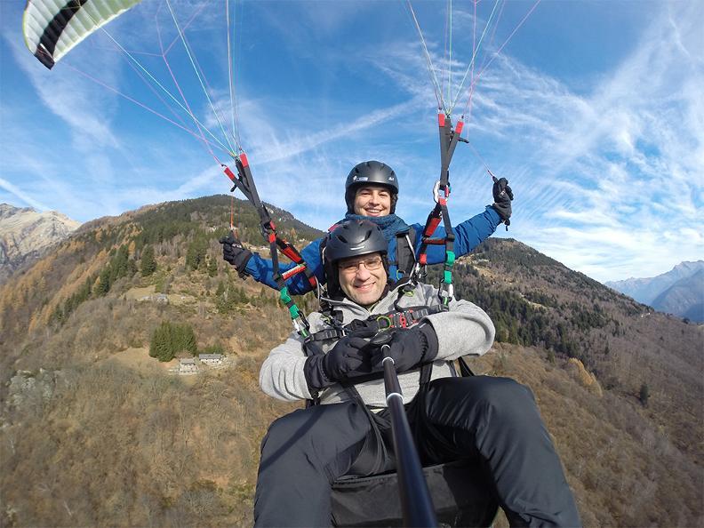 Image 2 - FlyTicino – Vols biplace en parapente au Bellinzonese e Alto Ticino