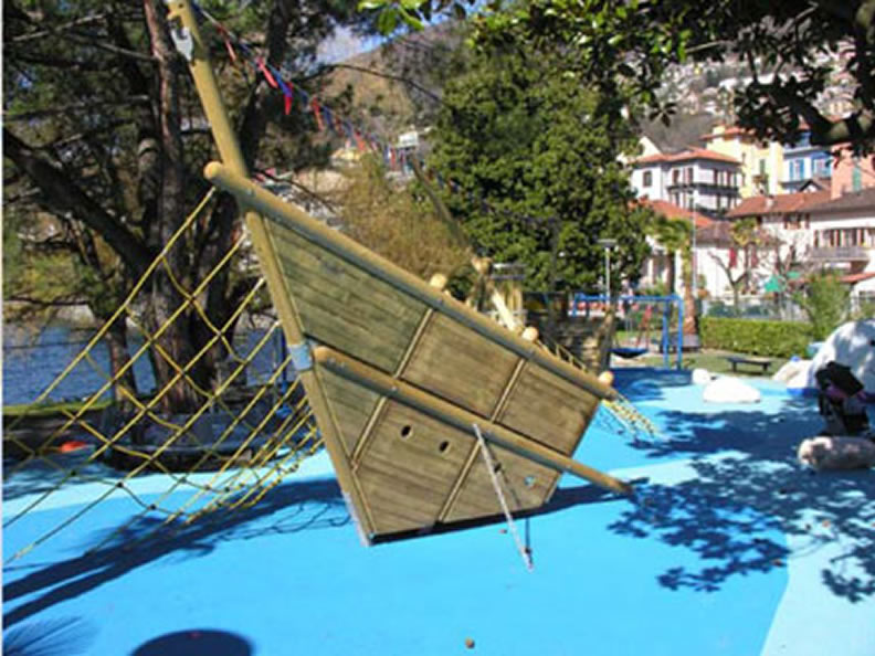 Image 0 - Parc de jeux Al Burbaglio, Muralto