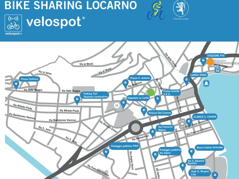 Bike Sharing Locarno VELOSPOT ticinoch