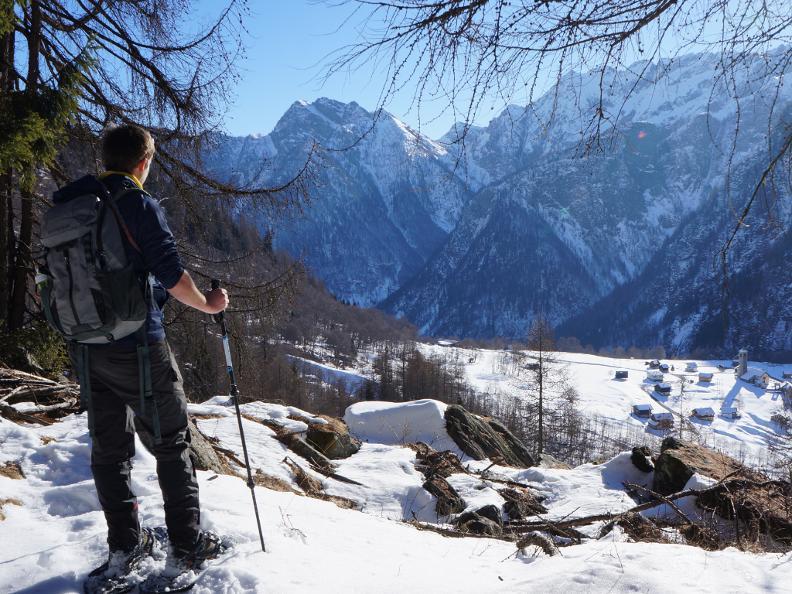 Image 0 - Sentiers de raquettes à neige au Tessin