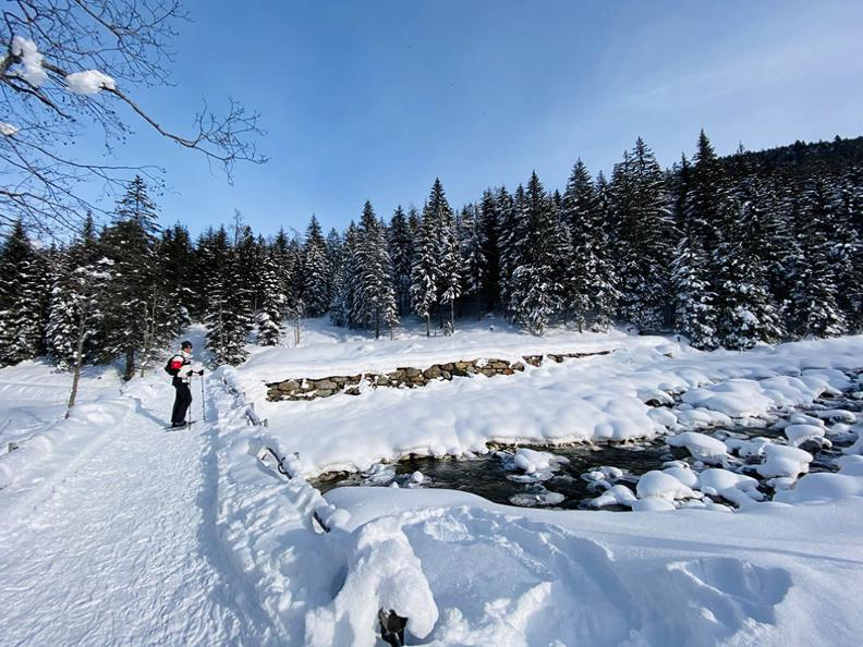 Image 1 - Sentiers de raquettes à neige au Tessin