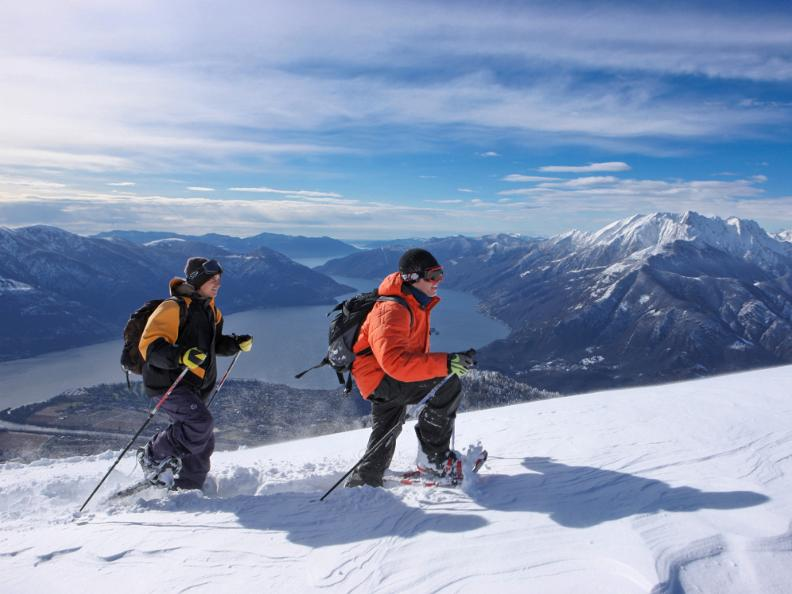 Image 3 - Snowshoe trails in Ticino