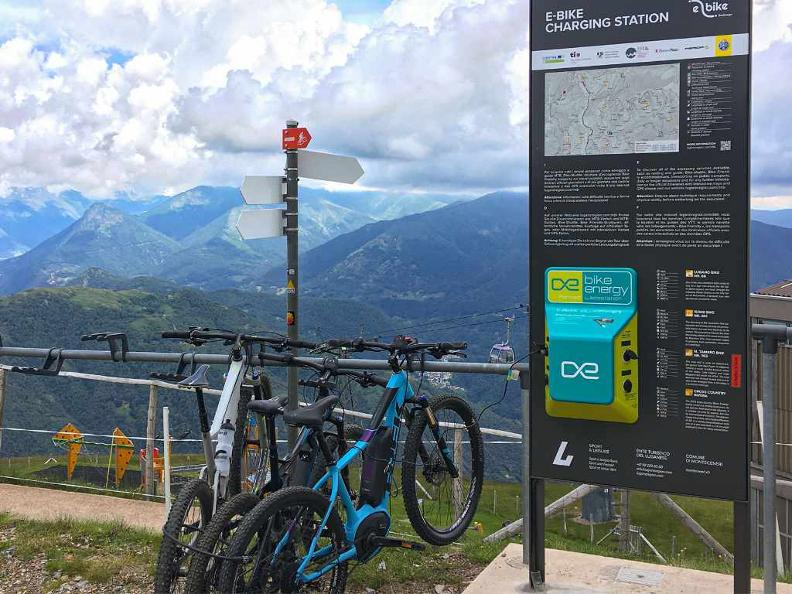 Image 0 - E-Bike charging point Alpe Bolla - Lugano