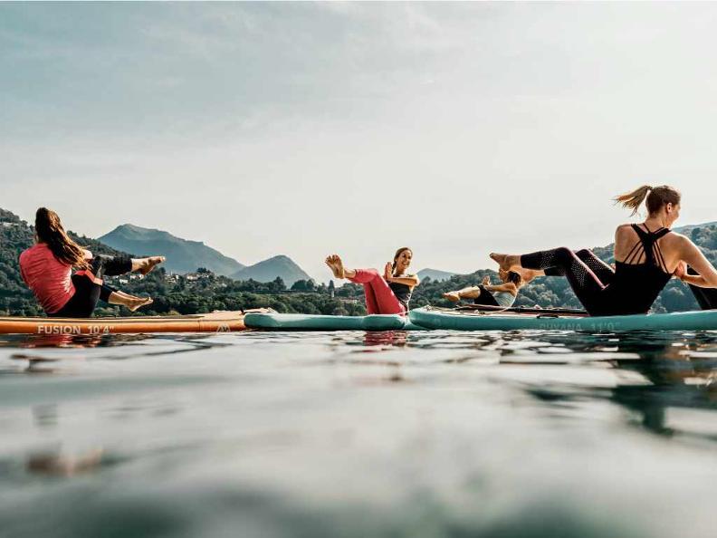 Image 0 - Stand up Paddle SUP Yoga