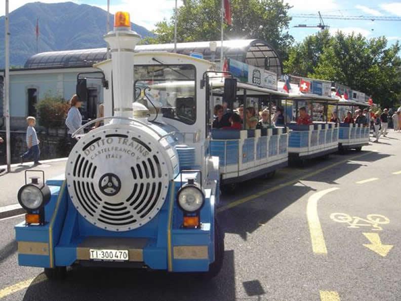 Image 2 - Small tourist train Locarno and Ascona