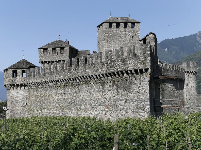 Image 2 - Die drei mittelalterlichen Burgen von Bellinzona