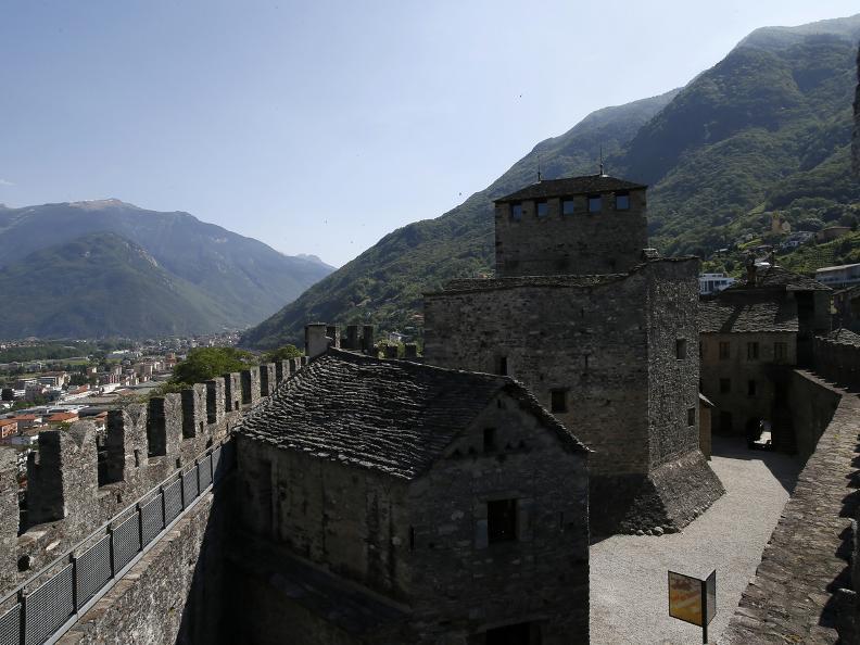 Image 4 - Die drei mittelalterlichen Burgen von Bellinzona