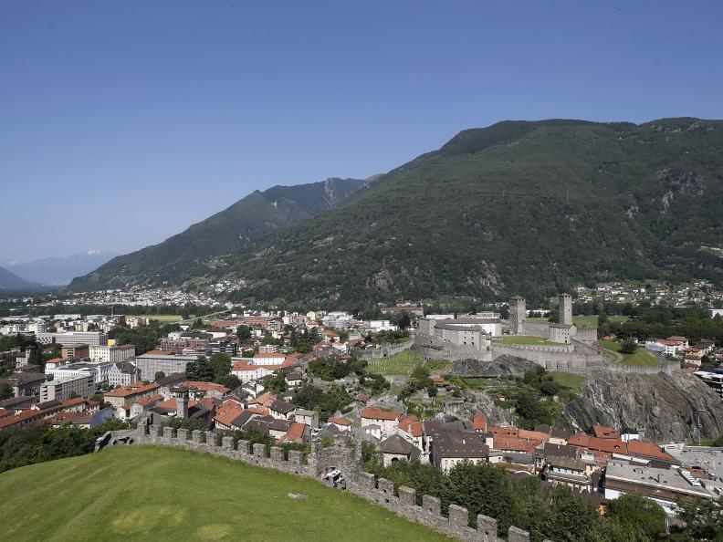 Image 1 - Die drei mittelalterlichen Burgen von Bellinzona