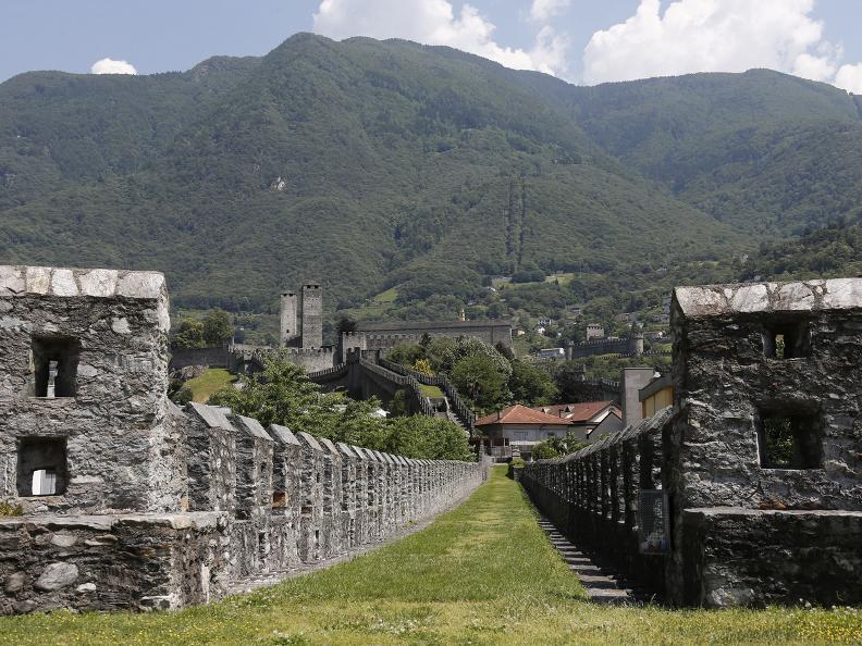 Image 7 - Die drei mittelalterlichen Burgen von Bellinzona