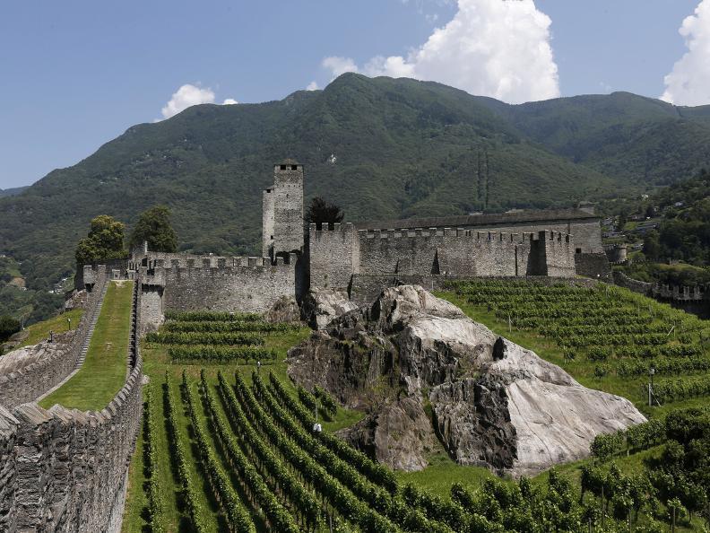 Image 9 - Die drei mittelalterlichen Burgen von Bellinzona