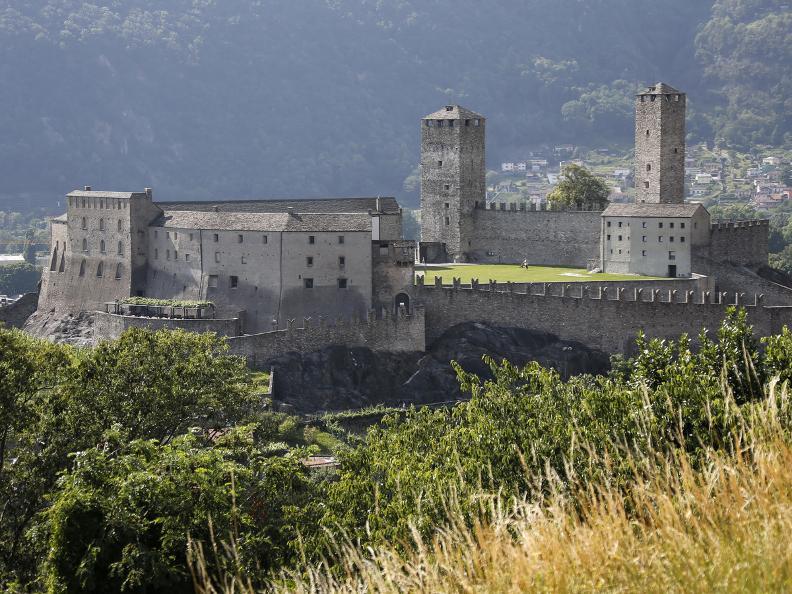 Image 14 - Die drei mittelalterlichen Burgen von Bellinzona