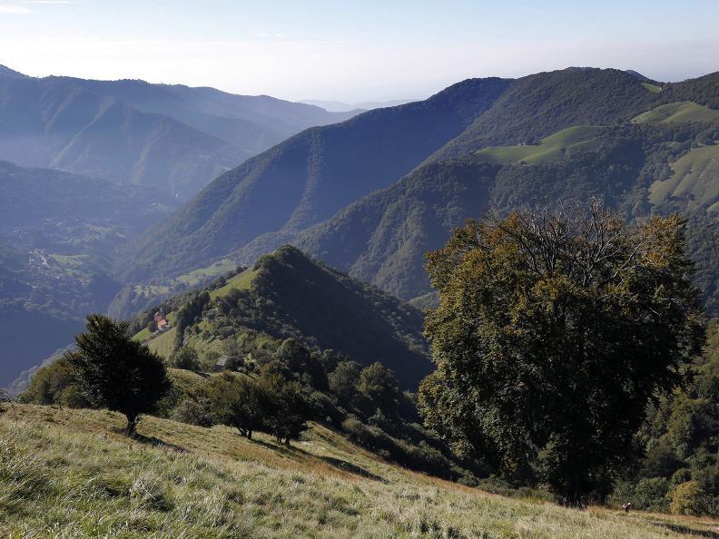 Image 1 - Sentiero Smeraldo Cabbio - Bellavista - Cabbio