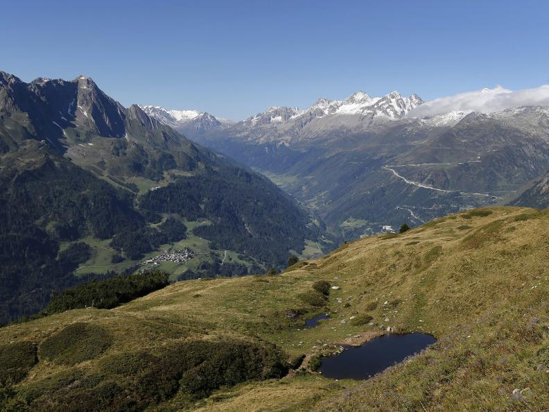 Image 1 - A look over Piora, Leventina and Bedretto valley