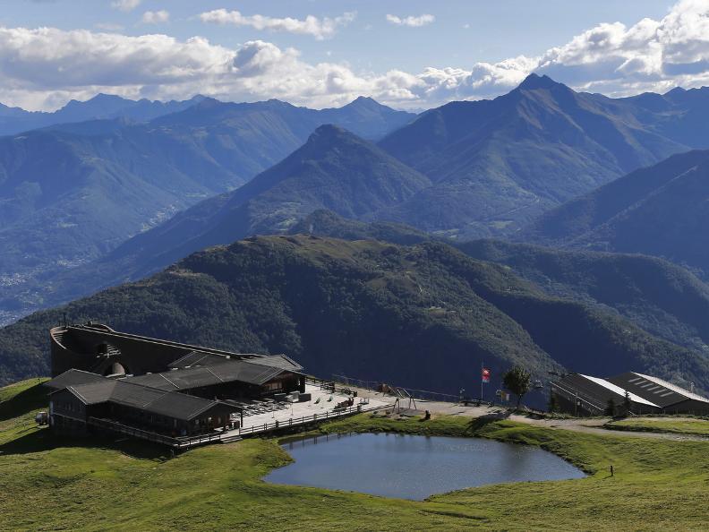 Image 1 - The Monte Tamaro - Monte Lema traverse