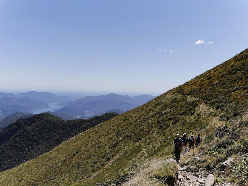 Image 13 - The Monte Tamaro - Monte Lema traverse