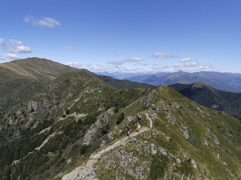 Image 16 - The Monte Tamaro - Monte Lema traverse