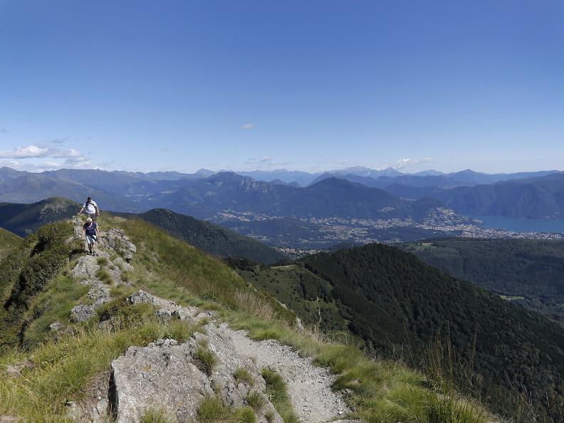 Image 17 - The Monte Tamaro - Monte Lema traverse
