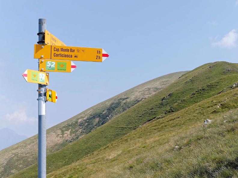 Image 2 - Lugano Trekking tappa 3: Cap. Monte Bar - Tesserete
