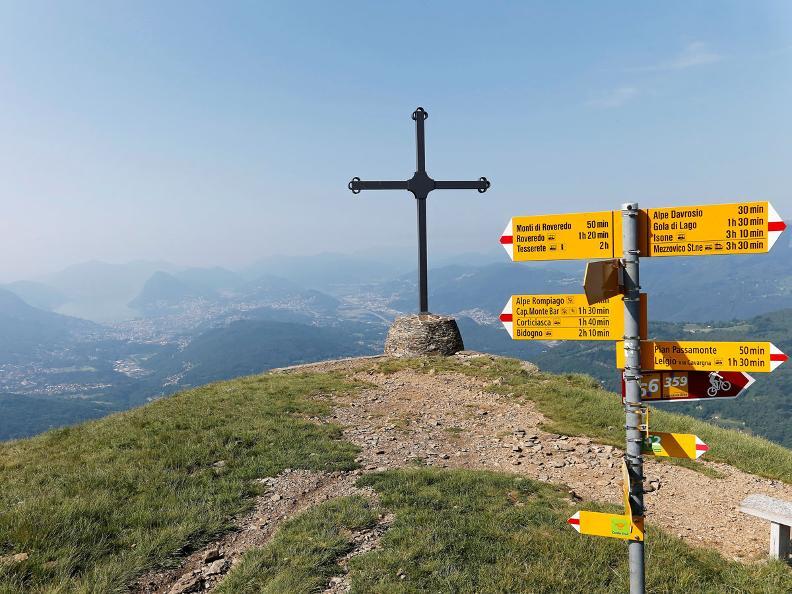 Image 0 - Lugano Trekking tappa 3: Cap. Monte Bar - Tesserete