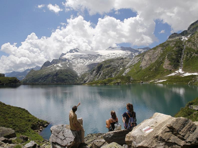 Image 8 - Robièi and the Cavagnöö's Lake