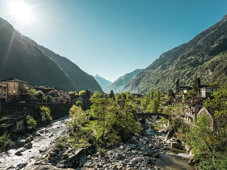 Image 1 - The Gotthard Path: Giornico