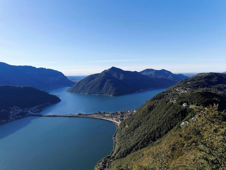 Image 4 - From the summit of Mount San Salvatore to Paradiso