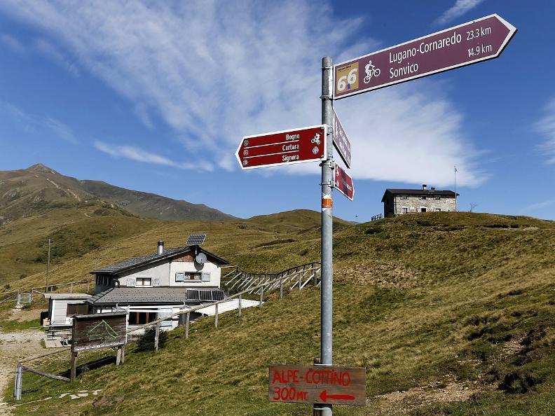 Image 5 - Lugano Trekking tappa 2: Cap. Pairolo-Cap. Monte Bar